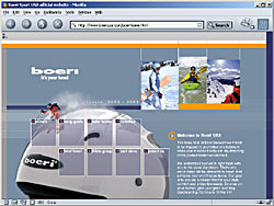 Screenshot of BoeriUSA.com