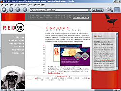 Screenshot of Red98.com